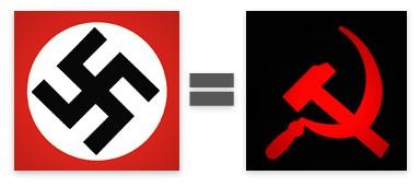 nazisme=communisme